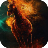 Shadowy horse live wallpaper icon