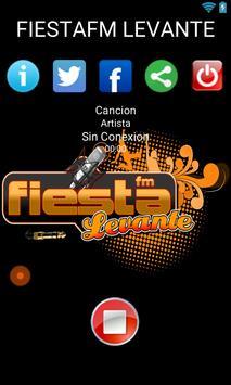 FIESTA FM LEVANTE - MOTIVANTE Poster