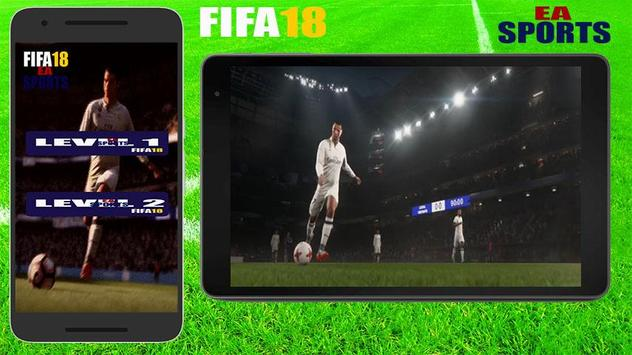 Guide FiFA18 EA SPORTS GAME FOOTBALL poster
