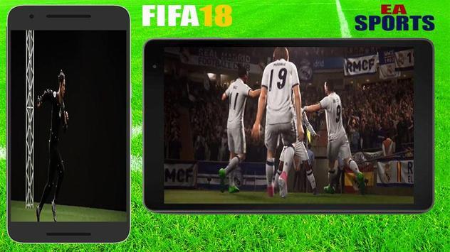 Guide FiFA18 EA SPORTS GAME FOOTBALL screenshot 1