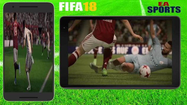 Guide FiFA18 EA SPORTS GAME FOOTBALL screenshot 2