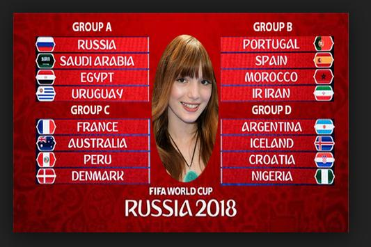 Fifa Word Cup photo frame screenshot 3