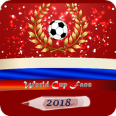 World Cup 2018 FANS - Schedule for WC 2018 Russia icon