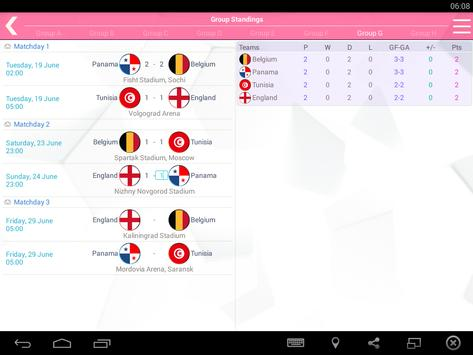 World Cup 2018 FANS - Schedule for WC 2018 Russia apk screenshot