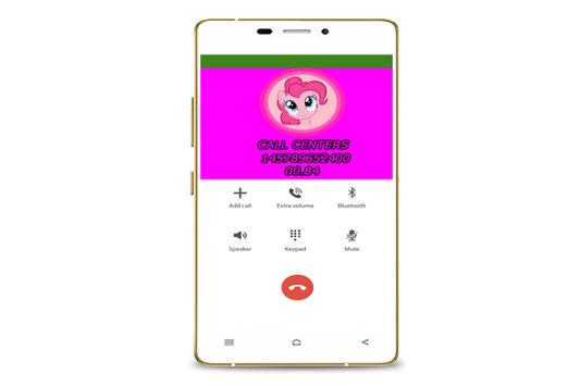 fack call from Pinkie screenshot 4