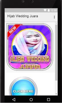 Hijab Wedding Juara poster