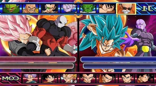 Dragon Saiyan 3 Battle poster