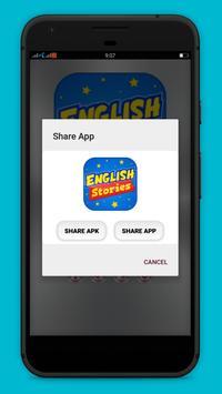 Short English stories apk screenshot