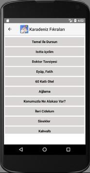 Karadeniz Fıkraları apk screenshot