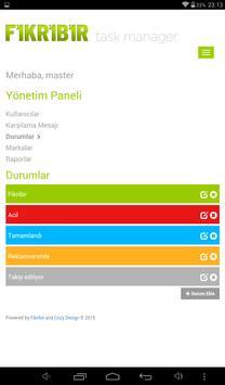 FİKRİBİR TASKMANAGER apk screenshot