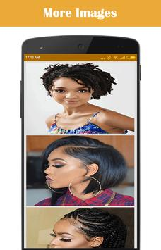 Hairstyle for African Women poster