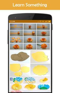 How to make paper flowers apk screenshot