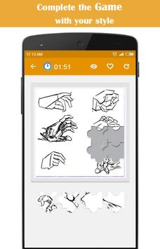 Learn to Draw Hand poster