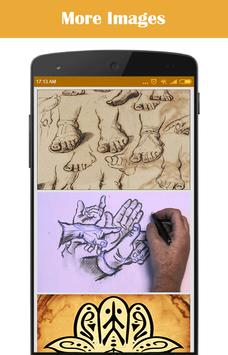 Learn to Draw Hand apk screenshot