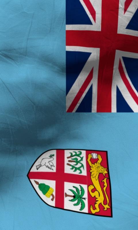 Fiji Flag Live Wallpaper Free Apk Screenshot