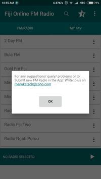 Fiji Online FM Radio screenshot 8
