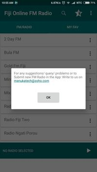 Fiji Online FM Radio screenshot 2