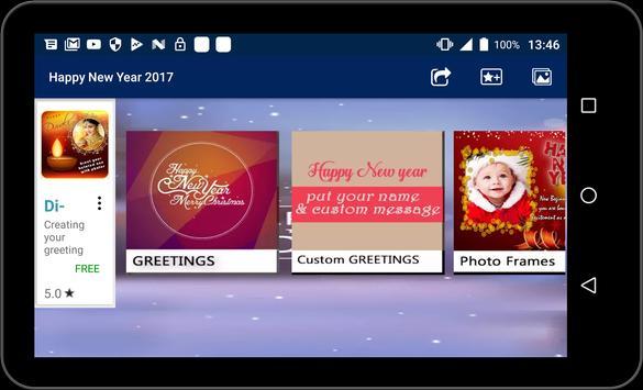 New Year Greetings and Frames screenshot 5