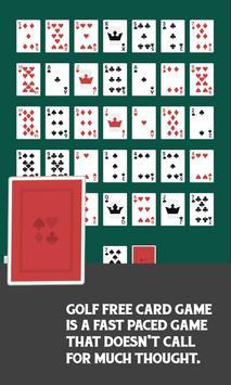 Golf Free Card Game screenshot 1