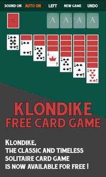 Klondike Free Card Game poster
