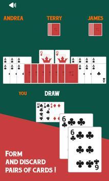 Old Maid Free Card Game screenshot 1