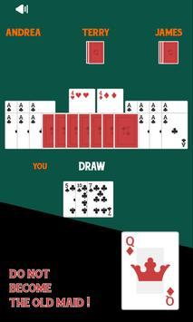 Old Maid Free Card Game screenshot 2