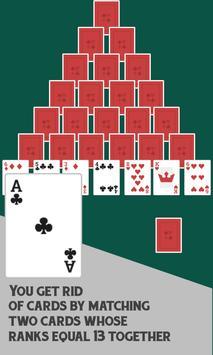 Pyramid Free Card Game screenshot 1