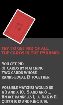 Pyramid Free Card Game screenshot 3
