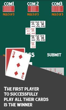 Sevens Free Card Game screenshot 2