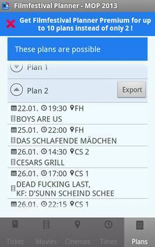 Filmfestival Planner Freemium screenshot 5