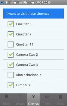 Filmfestival Planner Freemium screenshot 3