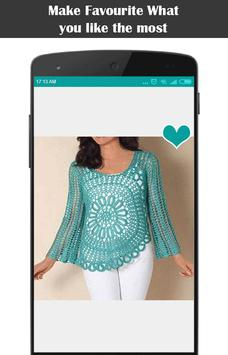 Diy Crochet Tunic Dress screenshot 1