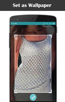 Diy Crochet Tunic Dress screenshot 2