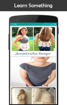 Diy Crochet Tunic Dress screenshot 3