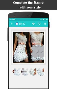 Diy Crochet Tunic Dress screenshot 4