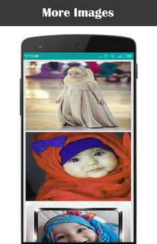 Hijab Cute For Kids poster