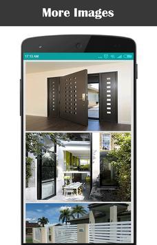modern gate designs apk screenshot