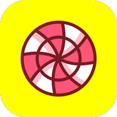 Candy Filter & Camera - Snow Filter Analog icon