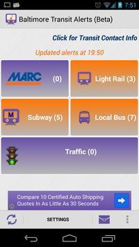 Baltimore Transit Delays poster