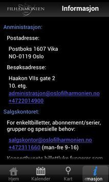 Oslo-Filharmonien screenshot 2