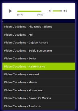 Lagu FILDAN D'Academy Mp3 TOP apk screenshot