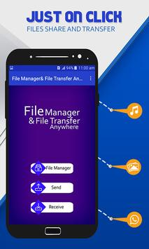 File Manager & File Transfer Anywhere poster