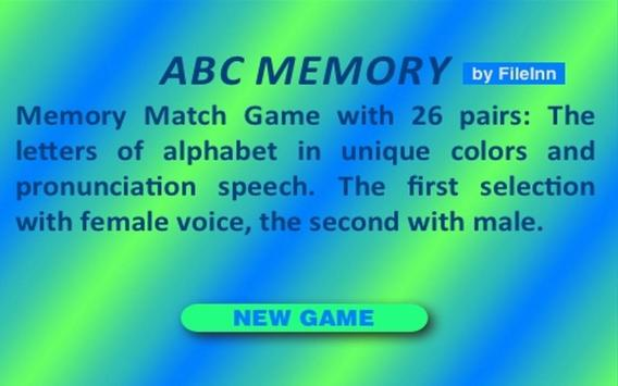 ABC MEMORY poster