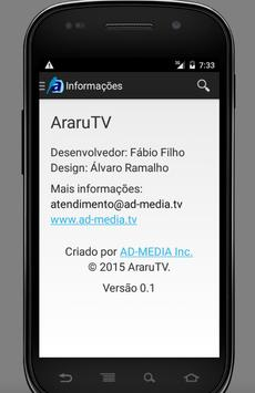 AraruTV apk screenshot