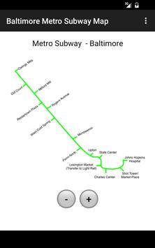 Subway Map Of Baltimore.Baltimore Metro Subway Map For Android Apk Download