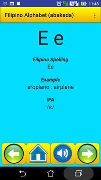 Filipino Alphabet (Abakada)for university students screenshot 11