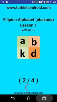 Filipino Alphabet (Abakada)for university students screenshot 13
