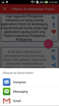 Filipino Indonesian Translator screenshot 15