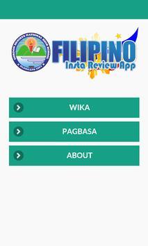FILIPINO INSTA REVIEW APP poster