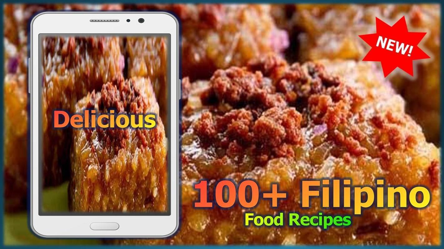 100 filipino food recipes descarga apk gratis comer y beber 100 filipino food recipes captura de pantalla de la apk forumfinder Image collections